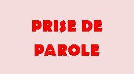 PRISE DE PAROLE2